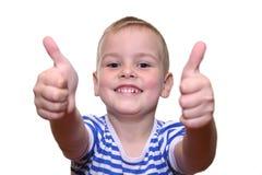 Glücklicher Junge lizenzfreies stockfoto