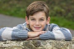 Glücklicher Jungen-männliches Kind Lizenzfreies Stockfoto