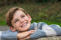 Glücklicher Jungen-männliches Kind Stockbild