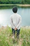 Glücklicher junger Mann Lizenzfreie Stockfotografie