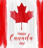 Glücklicher Kanada-Tageshintergrund Lizenzfreies Stockfoto