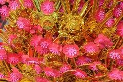 Glücklicher Knoten für Dekoration des Chinesischen Neujahrsfests Stockbilder