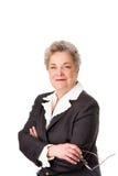 Glücklicher lächelnder Firmenkundengeschäftrechtsanwalt Lizenzfreie Stockfotos