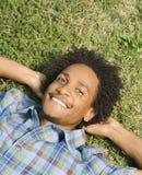 Glücklicher lächelnder Mann. Lizenzfreies Stockfoto