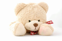 Glücklicher lächelnder Teddybär Stockbild