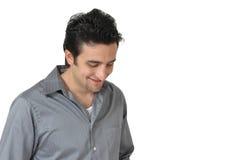 Glücklicher Mann Stockfoto