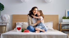 Glücklicher Mutter`s Tag stockfotos