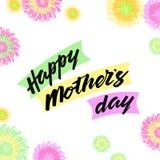 Glücklicher Mutter ` s Tageshintergrund Stockfotos