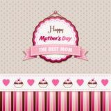 Glücklicher Mutter-Tag stock abbildung