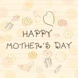 Glücklicher Mutter-Tag. Stockbild