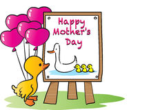 Glücklicher Muttertag Lizenzfreie Stockfotos