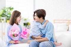 Glücklicher Muttertag lizenzfreies stockfoto