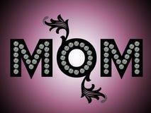 Glücklicher Muttertag, MAMMA Stockfoto