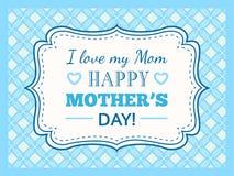 Glücklicher Muttertag Typografiebuchstabe-Gussart Stockfoto
