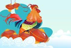 chinesisches horoskop vektor abbildung illustration von tier 8182613. Black Bedroom Furniture Sets. Home Design Ideas