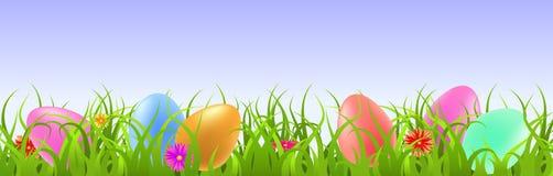 Glücklicher Ostern-Hintergrund vektor abbildung