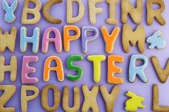 Glücklicher Ostern-Kuchen Lizenzfreies Stockfoto