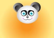 Glücklicher Panda Stockfoto