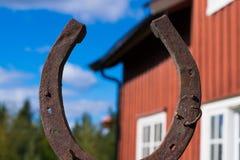 Glücklicher Pferdenschuh Lizenzfreies Stockfoto