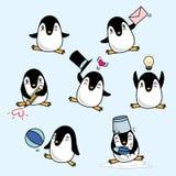 Glücklicher Pinguin Stockfoto