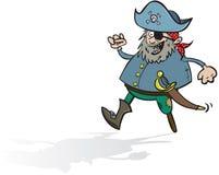 Glücklicher Pirat Lizenzfreies Stockfoto