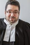 Glücklicher Rechtsanwalt Stockbild