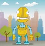 Glücklicher Roboter Lizenzfreie Stockfotos