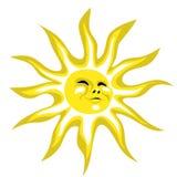 Glücklicher Sonnenschein Stockfotos