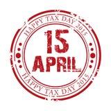 Glücklicher Steuer-Tag Stockfotos