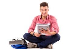 Glücklicher Student stockfotos
