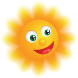 Glücklicher Sun Vektor Abbildung
