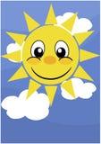 Glücklicher Sun Stockfotos