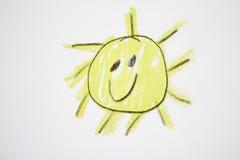 Glücklicher Sun Stockbilder