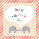 Glücklicher Tag card8 des Valentinsgrußes s Stockbild