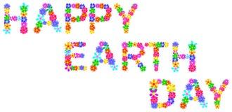 Glücklicher Tag der Erde Stockbilder