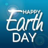 Glücklicher Tag der Erde Stockfoto