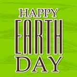 Glücklicher Tag der Erde Stockfotografie