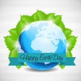 Glücklicher Tag der Erde Stockfotos