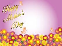 Glücklicher Tag des Mutter stock abbildung