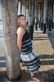 Glücklicher Tag am Strand Lizenzfreie Stockfotografie