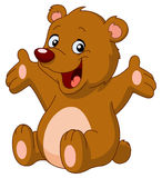 Glücklicher Teddybär Stockfotos