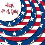 Glücklicher Unabhängigkeitstag! stock abbildung