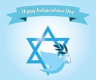 Glücklicher Unabhängigkeitstag! Lizenzfreies Stockfoto