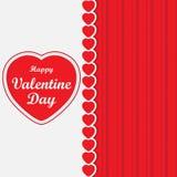 Glücklicher Valentine Day stock abbildung