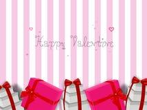 Glücklicher Valentinsgruß Stockfotos