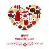 Glücklicher Valentinsgruß `s Tag Lizenzfreie Stockbilder