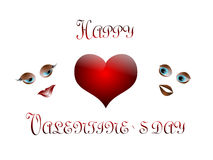 Glücklicher Valentinsgruß `s Tag Lizenzfreie Stockfotografie
