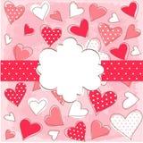 Glücklicher Valentinsgruß-Tag lizenzfreie abbildung