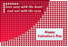 Glücklicher Valentinsgruß-Tag stock abbildung