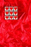 Glücklicher Valentinsgruß-Tageswürfel Lizenzfreies Stockbild